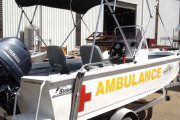 Medical Ambulance Boat