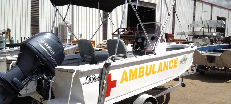 Medical Ambulance Boat